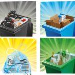 Calendrier des déchets 2020 janvier - juin