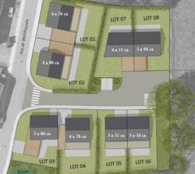 """Vente de places à bâtir à Merscheid dans le nouveau lotissement communal """"Kiert"""""""